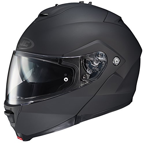 HJC 980-613 IS-MAX II Modular Motorcycle Helmet (Matte Black, Medium)