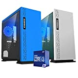 Pc Desktop Intel i3-10100 3.60 ghz Ram 16 gb ssd m2 256gb + Hard Disk 1 tb WiFi Psu 500w Licenza Windows 10 PRO