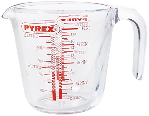 Pyrex P586 Measuring Jug, 500 ml