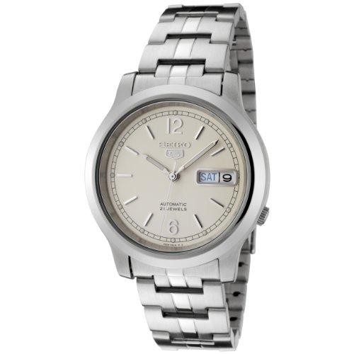 Seiko Unisex-Armbanduhr Analog Automatik Edelstahl beschichtet SNK797K