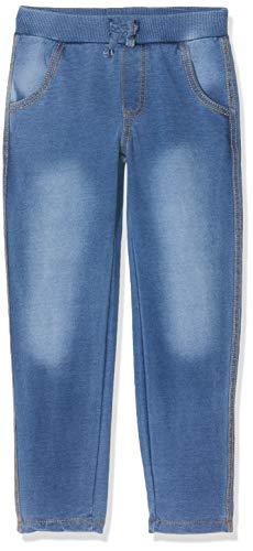 Schiesser Mädchen Sweathose Hose, Blau (Blau 800), (Herstellergröße: 110)