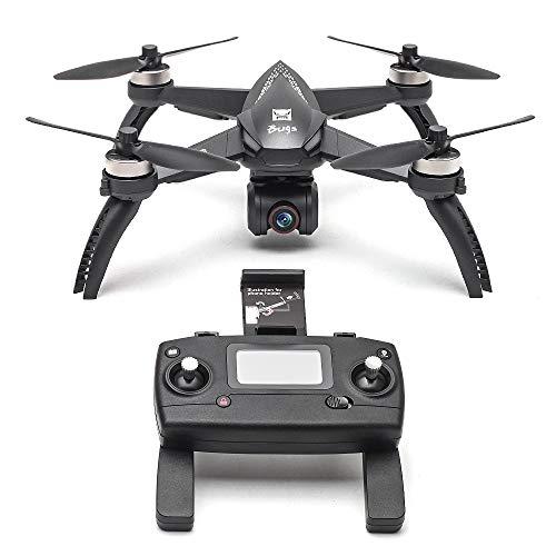 MJX B5W 4K Bugs 5W 4K RC Racing FPV Drone - Amazingbuy 2.4GHz 6-Axis Gyro 4K HD 5G WiFi Camera - Long Range 2420mAh Drone W/GPS, Altitude Hold, Headless Mode,One Key Return,Follow Me,Bugs GO (Black)