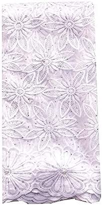 African velvet lace fabric _image2