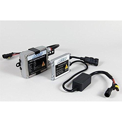 ASD TECH KITXENONH1 6 Kit Xénon H1 Simple 6000K 35W Slim Ballast