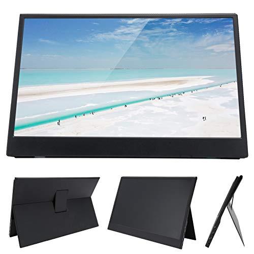 Monitor Portátil - Pantalla de Visualización de Monitor de 13,3 Pulgadas Ultradelgada 1080P HD con Soporte Magnético Funda Protectora para Computadora Portátil, PC, Teléfono, Consola