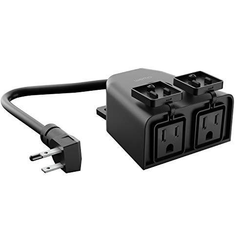 WeMo WiFi Smart Outdoor Plug – (WSP090), White