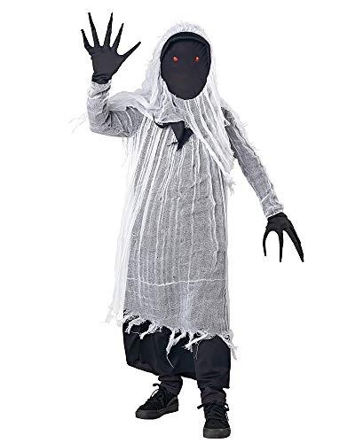 Seasons Boys Light-up Faceless Ghost Costume (M(8-10))
