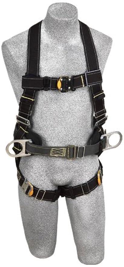 貧しいジョガー消毒するDBI/Sala 1110803 Delta II Arc Flash Full Body Harness, Black, Small by DBI-Sala