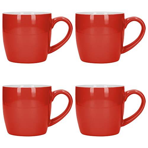 London Pottery 5251664 Kaffeebecher-Set, Steingut