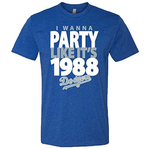 I Wanna Party Like It's 1988 DOD.g.e.r.s Tshirt DOD.g.ers Gifts, DOD.g.ers World Series, DOD.g.ers World Series hat, DOD.g.ers face mas.k for Men Women Unisex Hoodie Longsleeve Sweatshirt