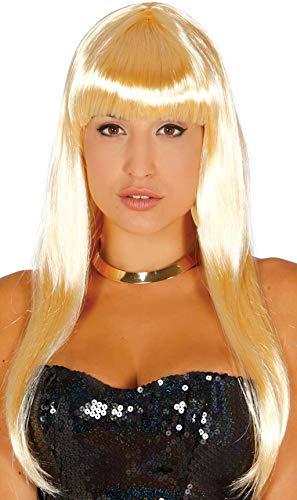 Fiestas Guirca GUI4224 Perruque Longue Blonde