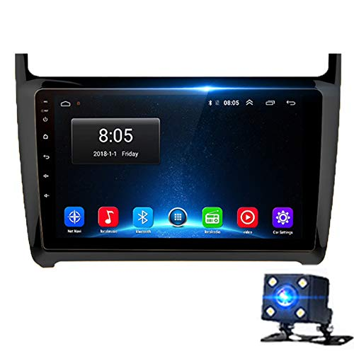 Review NBVNBV Android 9.0 Touchscreen Car Radio GPS Multimedia Navigator System Fit for VW Polo 2008...