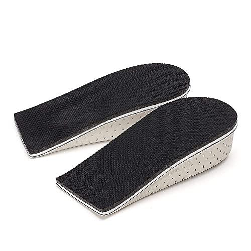 CHAMARIPA Elevator Height Increase Cushioning Insoles Comfort and Ergonomics Shoe Lifts for Men & Women Heel Lifts for Shoes 1.18 inch Chamaripa (Half Length)