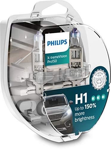 Philips H1 X-tremeVision Pro150 55 Watt 12 Volt P14,5s 12258XVPS2 (2 Stück)