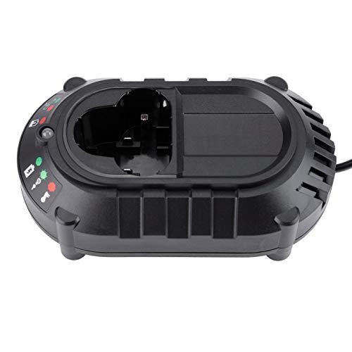 FOLOSAFENAR 13.1VDC 134 * 78 * 45 mm Cargador de batería 100-240V Cargador de batería Control de Carga, luz indicadora LED, para Makita, para(European regulations)