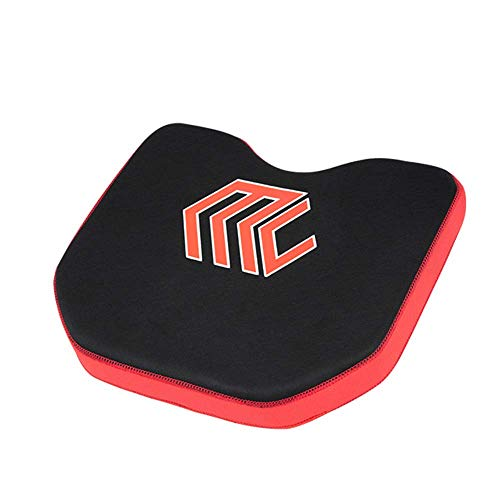 LICHAO Floating Kayak Seat Cushion, Breathable Comfortable Thicken Soft Boat Seat Pad with 4 Suction Cups Fishing Gear Accessories, for Outdoor Kayaking Camping