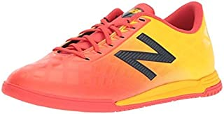 New Balance Boys' Furon V4 Soccer Shoe Flame G 5.5 M US Big Kid [並行輸入品]