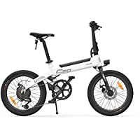 Lixada HIMO C20 20 Pulgadas Plegable 80KM Range Power Assist Bicicleta eléctrica ciclomotor E-Bike 10AH