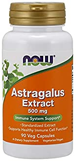 Now Foods, Astragalus Extract, 500 mg, 90 Veggie Caps