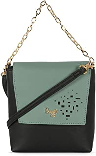 Baggit Women's Synthetic Handbag (Black) (Lp Snare)