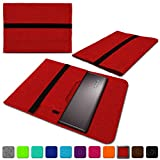 NAUC Lenovo Thinkpad Yoga 370 Tasche Hülle Filz Sleeve Hülle Schutzhülle Notebook Cover, Farben:Rot