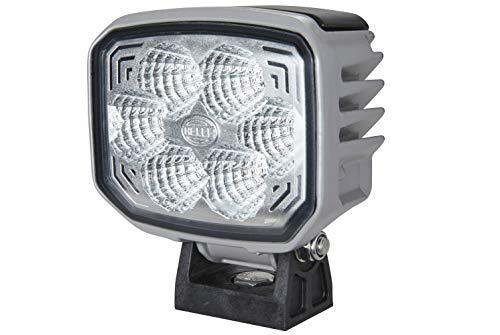 HELLA 1GA 996 388-041 Arbeitsscheinwerfer - Power Beam 1800 - LED - 24V - 1850lm - Anbau/Bügelbefestigung - stehend - weitreichende Ausleuchtung - Stecker: DEUTSCH