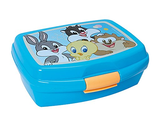 FUN HOUSE Baby Looney Toons Boîte goûter Taille 6 x 17 x 13,5 cm