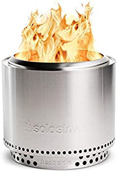 Solo Stove Bonfire Stainless Steel Outdoor Wood Burning Fire Pit