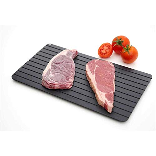 Auftauplatte aus Aluminium, 1 Stück, schnelles Auftauen, für Fleisch, Fisch, Meeresfutter, schnelles Auftauen, Küchenhelfer, Dropshipping