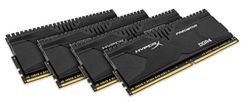 Kingston HyperX Predator HX430C15PB2K4/16 Arbeitsspeicher 16GB (CL15, 288-polig) DDR4-DIMM Kit (Skylake Compatible) schwarz