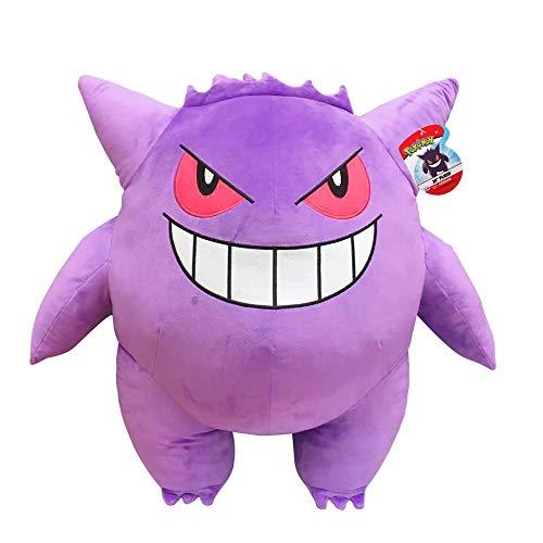 PoKéMoN Pokemon Plüsch BO35230, Gengar Riesen-Plüschfigur (60cm), realistisch gestaltetes, Super weiches Plüschtier zum Knuddeln und Liebhaben