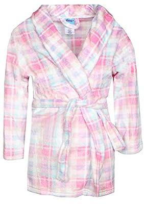 Sleep On It Girl's Coral Fleece Printed Robe