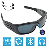 Best Bluetooth Sunglasses - Bluetooth Camera Sunglasses Full HD 1080P Video Recorder Review