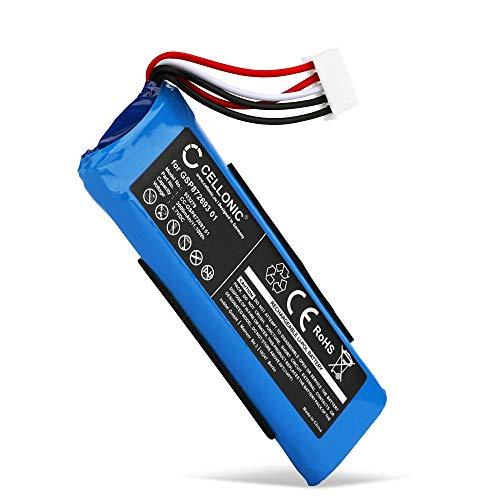 CELLONIC® Qualitäts Akku kompatibel mit JBL Flip 4, Flip 4 Special Edition, GSP872693 01 3000mAh Ersatzakku Batterie