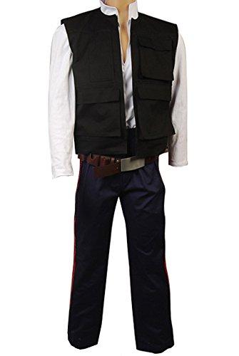 Bilicos ANH A New Hope Han Solo Cosplay Kostüm Weste Hemd Hose Maßanfertigung