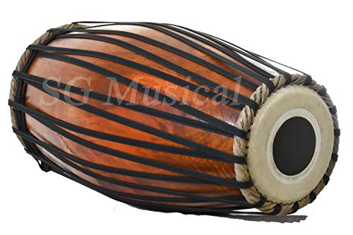 SG Musical Mridangam Strap TunedWooden South Indian Dholak