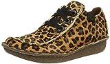Clarks Funny Dream, Zapatillas Mujer, Estampado de Leopardo, 40 EU