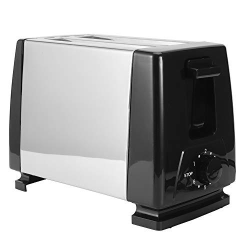 NITRIP Máquina de Desayuno, tostadoras de Pan Que ahorran Espacio, Suministro de Cocina con Enchufe de la UE para la Oficina de Pan casero