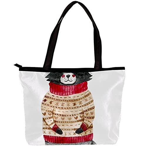 Bolso bandolera para mujer con diseño de animal, para mamá, para llevar al bebé, bolso de mano