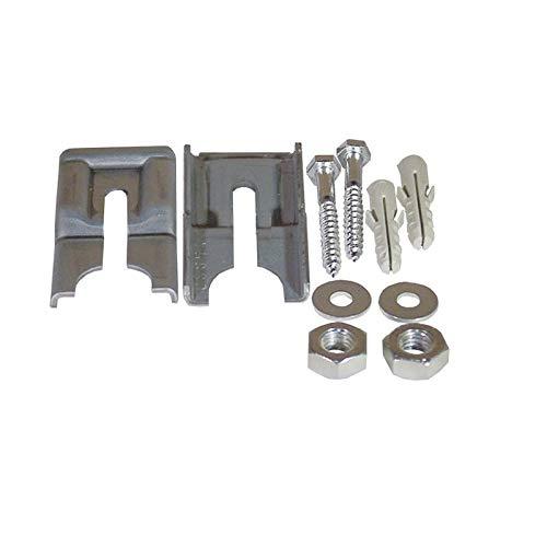 Bodenbefestigung Montagesatz Waschmaschine Semi-Professional Trockner und Wäscheschleudern Miele 0253531