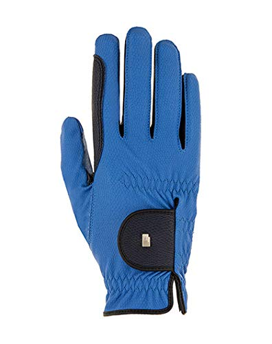Roeckl Sports Damen Handschuh Lona, Damenreithandschuh, Monaco Blue, 8