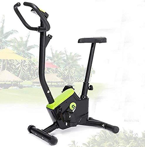 Spinning Inicio bicicleta estática cubierta bicicleta de la bici entrenador Cardio Máquina de bicicleta de ejercicios en casa Silencio Asiento de altura ajustable y monitor LCD de Ministerio del Inter