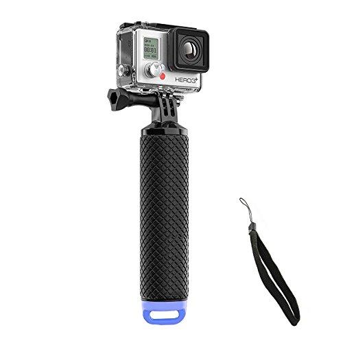 Welltop Impermeabile GoPro Floating mano Tripod Mount Galleggiante Presa della maniglia con il pollice Vite e regolabile cinturino da polso per GoPro Hero 2/3/3+/4 Sport Action Camera Mount