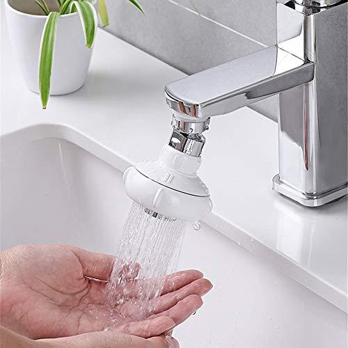Keuken Tap Extender, Flexibele RVS Kraan Spuitbus Filter, Spatwaterdichte Kraan Douchekop Filter Waterbesparende Apparaat,Short