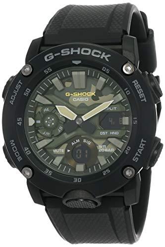 Relógio CASIO G-SHOCK masculino preto GA-2000SU-1ADR
