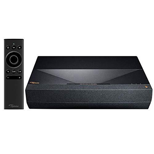Optoma CinemaX P1 4K UHD 3000 Lumens Home Theater with Integrated Soundbar - (Renewed)