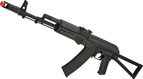 Evike - CYMA Stamped Metal AK74 w/Folding Stock Airsoft AEG Rifle