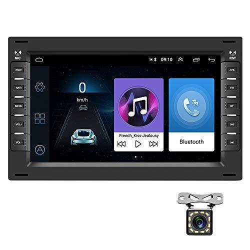 Autoradio Auto per VW Navigazione GPS CAMECHO Android 7 Pollici RDS Bluetooth Lettore Stereo per Auto WIFI Ricevitore Radio FM Dual USB per POLO MK3 MK4 MK5 GOLF4