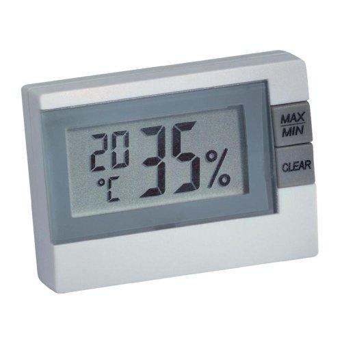 TFA Dostmann Basic Thermo-Hygrometer 305005 Anzeige von Temperatur und Luftfeuchtigkeit zur Raumklima-Überwachung