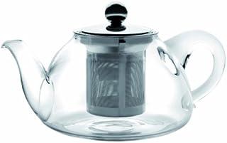 IBILI Teapot Set Kristall-Stove with Filter 200 ml of Glass, Transparent